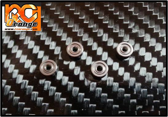 PN RACING - 600127 - Roulement à billes 2x6x2.5mm x4 grande flasque