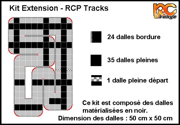 RCP TRACKS - C52436 - KIT EXTENSION