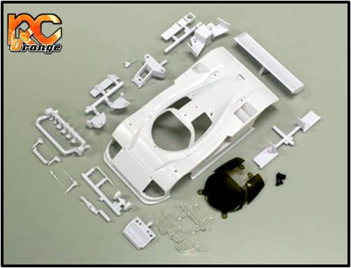 KYOSHO - MZN152 - Carrosserie blanche à peindre - LM 102mm - Mazda 787B