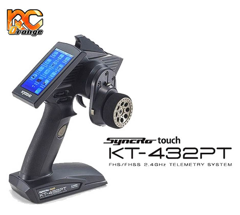 KYOSHO - 82136 - Emetteur KT432PT - SYNCRO TOUCH - FHS/FHSS