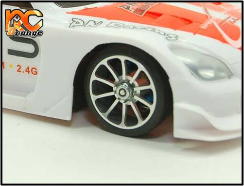 PN RACING - MR2081F - Jante avant 10 Spok en Aluminium poli 20 mm
