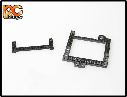 PN RACING - MR2888CF - Plaque carbone pour modification du pod hybride en LM