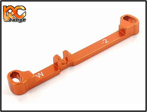 PN RACING - MR3021 - Barre de direction en aluminium wide -2° pour MR03