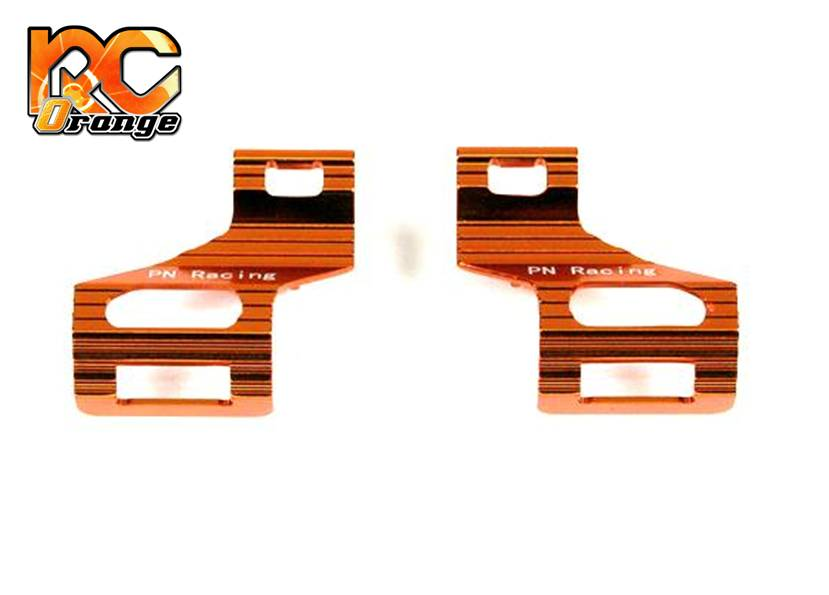 PN RACING - MR3038A - Clips d'accu MR03 en alu léger - V2