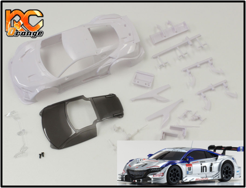 KYOSHO - MZN166 - Carrosserie blanche à peindre - MM 98mm - Honda NSX Concept GT 2014 Weider