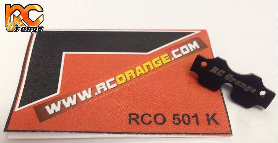 RC ORANGE - RCO501K - V2 Protection avant pour châssis MR03 - Noir