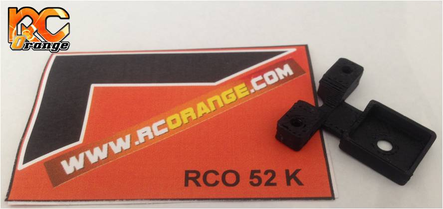 RC ORANGE - RCO52 - Support de puce Robitronic pour châssis Kyosho