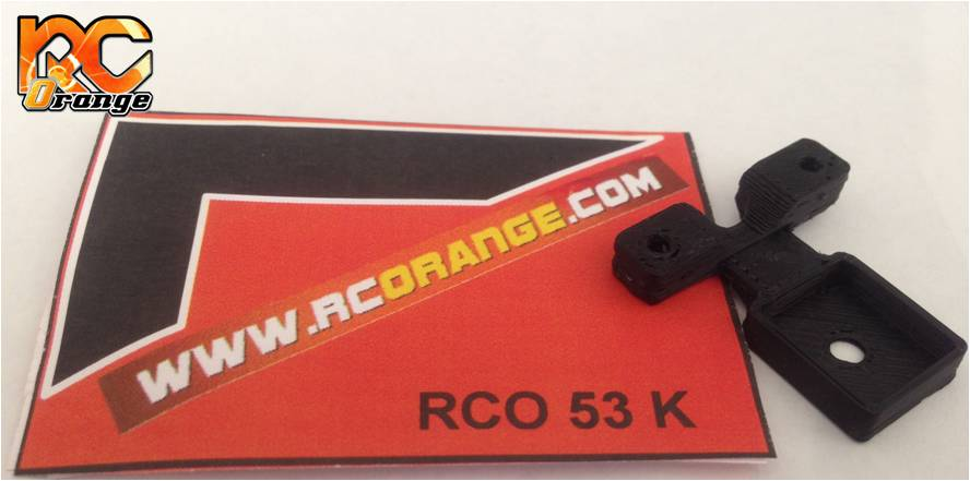 RC ORANGE - RCO53 - Support de puce Robitronic pour châssis PN Racing 900100