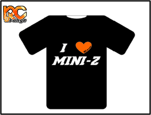 RC ORANGE - T01ilove - Tee-shirt I love mini-z