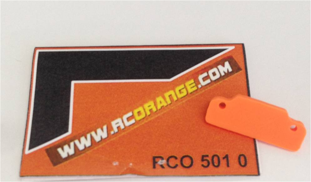 RCORANGE - RCO501 - Protection avant pour chassis MR03 - V3