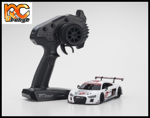 KYOSHO - 32323AS - MINI-Z RWD - W/MM/98 - Radio KT-531P et Chassis MR03 AUDI R8 LMS 2015 White