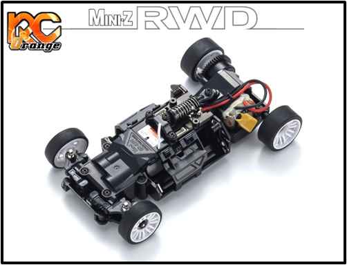 KYOSHO - 32325OR - RWD - W/MM/98 - Radio KT-531P et Chassis MR03 McLaren 12C GT3 2013 Orange