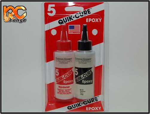 PN RACING - BSI201 - Colle epoxy bi-composants Finishcure 5 Min (128 g)