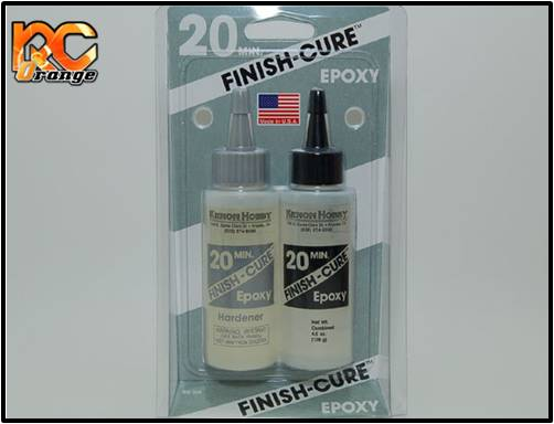 PN RACING - BSI209 - Colle epoxy bi-composants Finishcure 20 Min (128 g)