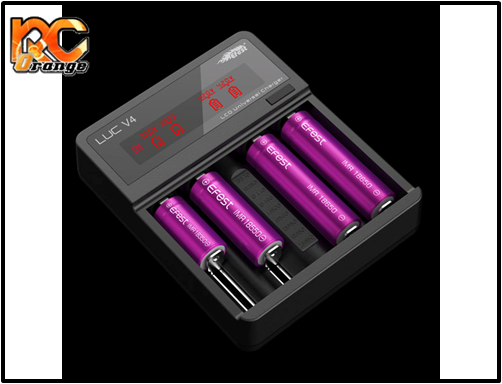 Efest - EF-LUC-V4 - Chargeur LUC V4 LCD & USB pour lipo PN Racing