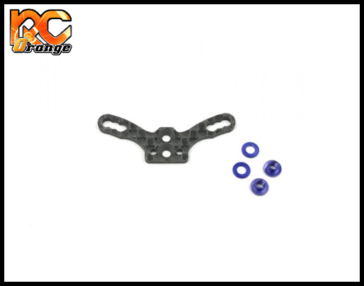 GL RACING - GLA-015-R - Support de suspension arrière option en carbone pour GLA