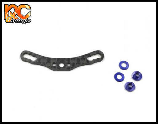 GL RACING - GLA-015F - Support de suspension avant option en carbone pour GLA