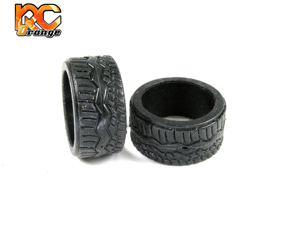 PN RACING - KS2728 - Pneu arrière en gomme KS Compound - Type F - MEDIUM pour RCP Track (1 Paire)