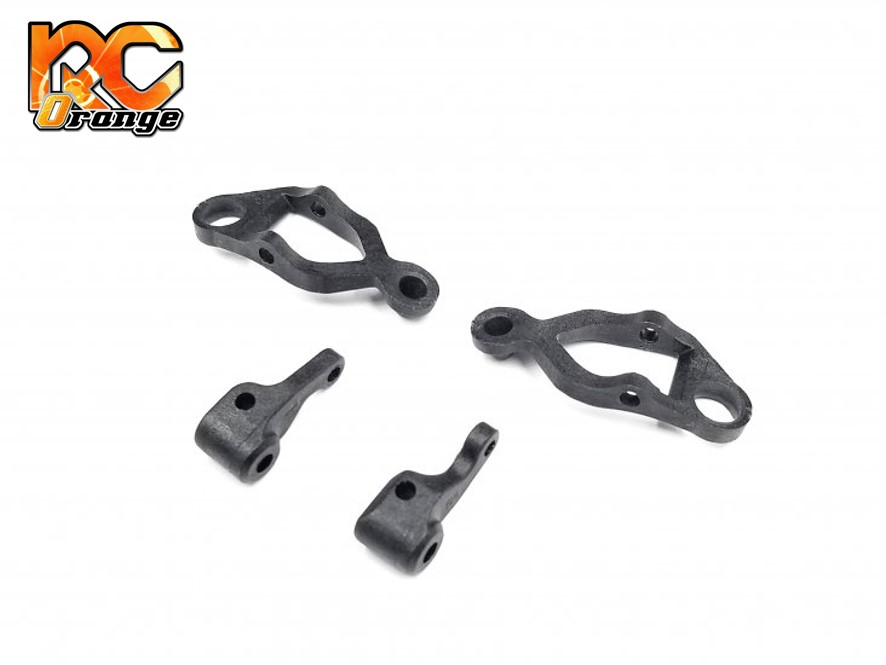 GL RACING - GLR-S002 - Kit bras de suspension avant et fusées