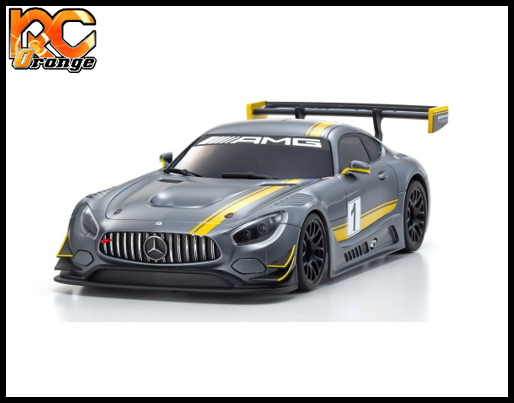 KYOSHO MINI Z RWD 32338GY Radio KT 531P et Chassis MR03 Mercedes Benz AMG GT3 Color 1 2