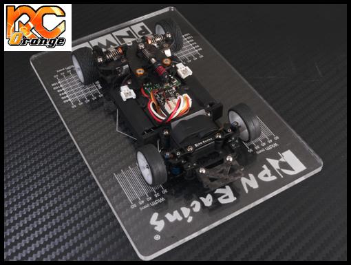 PN RACING 700659 Planche de reglage Mini Z MR02 MR03 PNW2.5 transparente 1