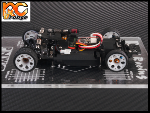 PN RACING 700659 Planche de reglage Mini Z MR02 MR03 PNW2.5 transparente 2