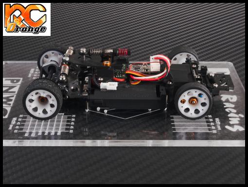 PN RACING 700659 Planche de reglage Mini Z MR02 MR03 PNW2.5 transparente 2