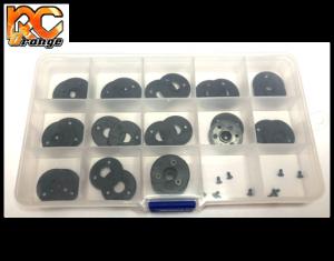Boite de rangement 15 cases pour les kits flancs RTRC D20 et D19. RT043