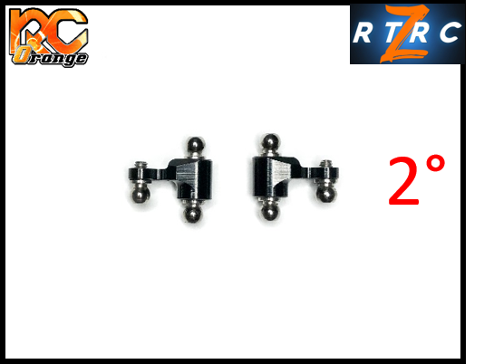 Fusee V2 avec 2° de carrossage G D RTA RT054