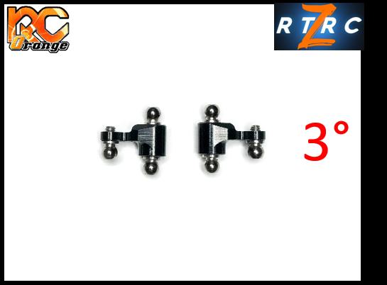 Fusee V2 avec 3° de carrossage G D RTA RT055
