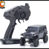 KYOSHO CRAWLER 32521GM Chassis MX 01 4x4 Jeep Wrangler Rubicon avec Radio KT 531P Granite metal mini z