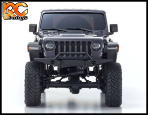 KYOSHO CRAWLER 32521GM Chassis MX 01 4x4 Jeep Wrangler Rubicon avec Radio KT 531P Granite metal mini z 3