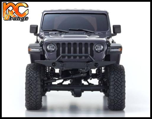 KYOSHO CRAWLER 32521GM Chassis MX 01 4x4 Jeep Wrangler Rubicon avec Radio KT 531P Granite metal mini z 3