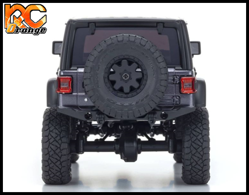 KYOSHO CRAWLER 32521GM Chassis MX 01 4x4 Jeep Wrangler Rubicon avec Radio KT 531P Granite metal mini z 4