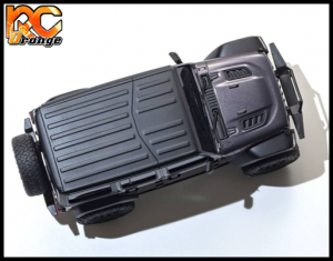 KYOSHO CRAWLER 32521GM Chassis MX 01 4x4 Jeep Wrangler Rubicon avec Radio KT 531P Granite metal mini z 5