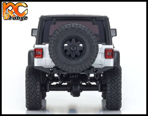 KYOSHO CRAWLER 32521W Chassis MX 01 4x4 Jeep Wrangler Rubicon avec Radio KT 531P Blanc mini z 4