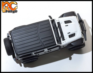 KYOSHO CRAWLER 32521W Chassis MX 01 4x4 Jeep Wrangler Rubicon avec Radio KT 531P Blanc mini z 5