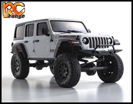 KYOSHO CRAWLER 32521W Chassis MX 01 4x4 Jeep Wrangler Rubicon avec Radio KT 531P Blanc mini z 6