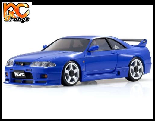 KYOSHO MINI Z AWD NISSAN SKYLINE GT R NISMOR33 Blue Readyset t MA 020 KT531P 32616BL 1