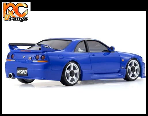 KYOSHO MINI Z AWD NISSAN SKYLINE GT R NISMOR33 Blue Readyset t MA 020 KT531P 32616BL 2