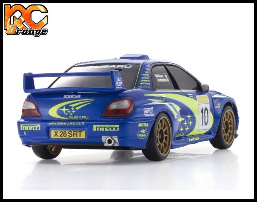Mini z autoscale Subaru WRC impreza 2020 MZP448WR 1
