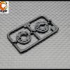 RC ORANGE GL RACING – GL GT S 018 – GLR GT – Support de flasque plastique pour differentiel a bille