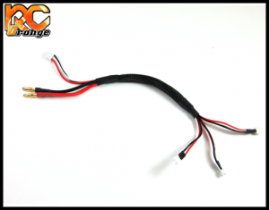 RC ORANGE 700253 PN RACING MINI Z cordon de charge lipo 2S GL RACING ATOMIC
