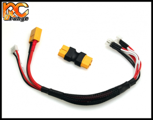 RC ORANGE 700254 PN RACING MINI Z cordon de charge lipo 2S GL RACING ATOMIC