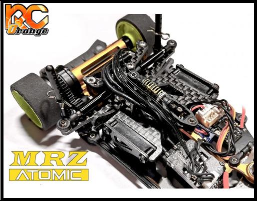 RC ORANGE Atomic MRZ MINI Z 1 28 MRZ UP18