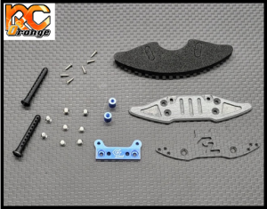 RC ORANGE GL RACING GL GT OP 028 GLR GT Kit pare choc avant option pour carrosserie lexan