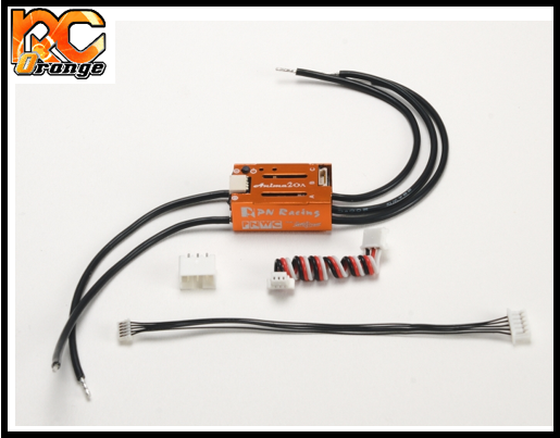 RC ORANGE PN RACING 500820 VARIATEUR ESC Anima 20A Micro Sensored Brushless mini z