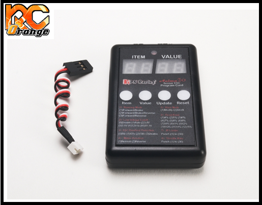 RC ORANGE PN RACING 500821 Programmateur pour ESC Anima 20A Micro Sensored mini z
