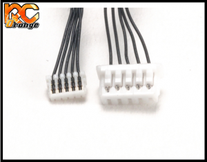 RC ORANGE PN RACING 500822 Cable sensor 80mm pour moteur PN.Ensotech vers ESC PN.TeamPowers.Atomic 2