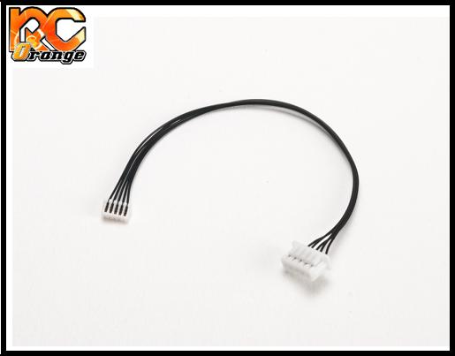 RC ORANGE PN RACING 500822 Cable sensor 80mm pour moteur PN.Ensotech vers ESC PN.TeamPowers.Atomic